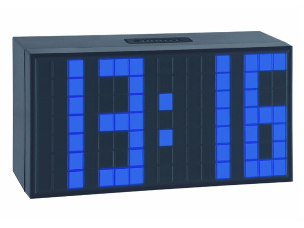 TFA 98.1082.06 TIME BLOCK blau Elektronischer Wecker
