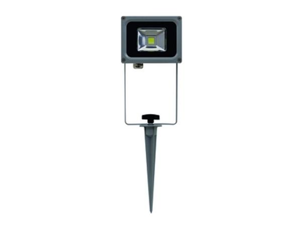 RITOS LEDs Garden LED Strahler mit Erdspieß 10W schwarz (0087412712)