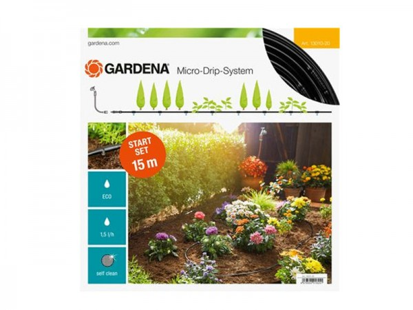 Gardena Micro-Drip-System Start-Set Pflanzenreihe S (13010)
