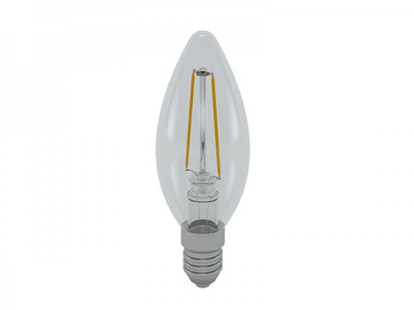 I-Light LED-Filament Kerze E14 2W 3000K warmweiß (LL-HCF1402C)