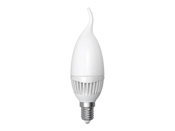 LED-Lampe E14 Flamme Kerze 5W 3000K warm weiß (LL-FC1405C)