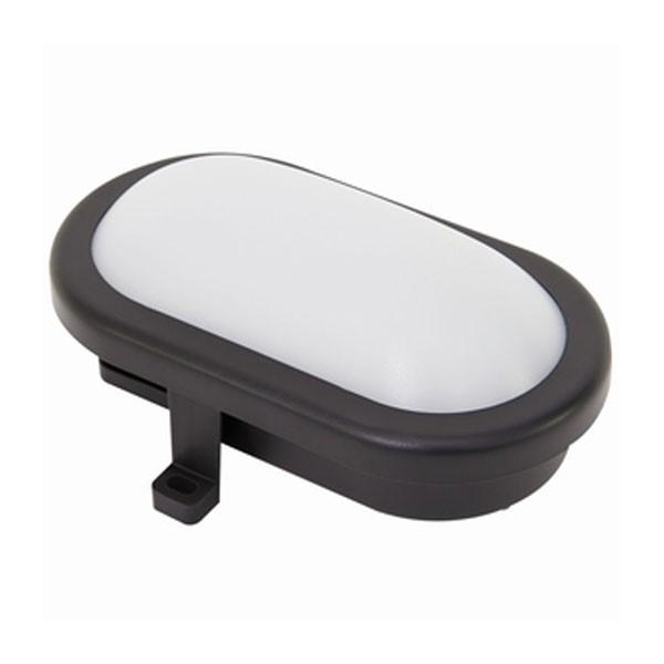 RITOS LED Außenleuchte 10 W oval schwarz (2101030100)