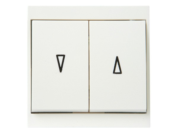 Jalousieschalter weiß Serie Malta - Kopp (621501085)