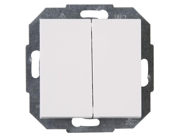 Wechsel-/Wechselschalter rein-weiß Serie Athenis - Kopp (587329086)