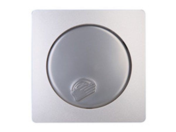 Dimmerabdeckung für Sensor-Dimmer DIMMAT Serie Paris silber - Kopp (315420186)