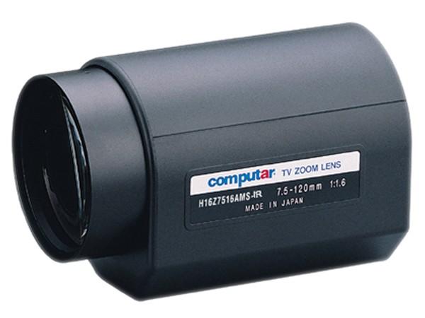 Computar H16Z7516AMSR-IR 16x Infrarot-Motor-Zoomobjektiv (Tag/Nacht) mit videogesteuerter Blende