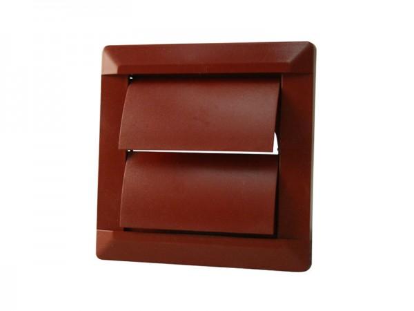 Marley Flachkanalsystem 125 Selbsttätige Verschlusskappe ziegel-rot (414362)