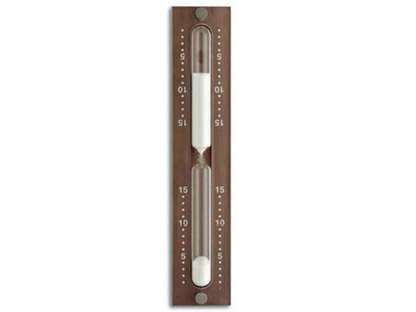 TFA 40.1045.25 Sauna-Sanduhr Ahorn hemlock dunkel