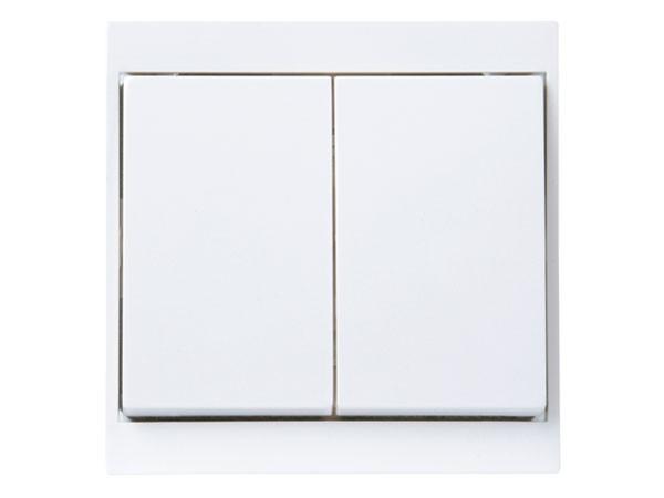 Wechsel-/ Wechselschalter arktis-weiß Serie Malta - Kopp (620313087)