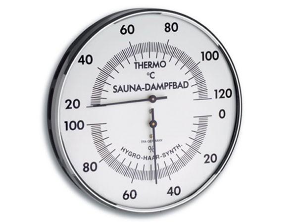 TFA 40.1032 Sauna-Thermo-Hygrometer rund
