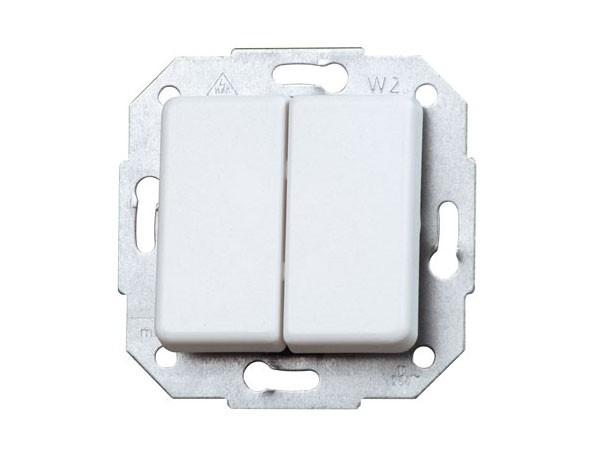 Wechsel- / Wechselschalter Serie Europa arktis-weiß Kopp (613313083)