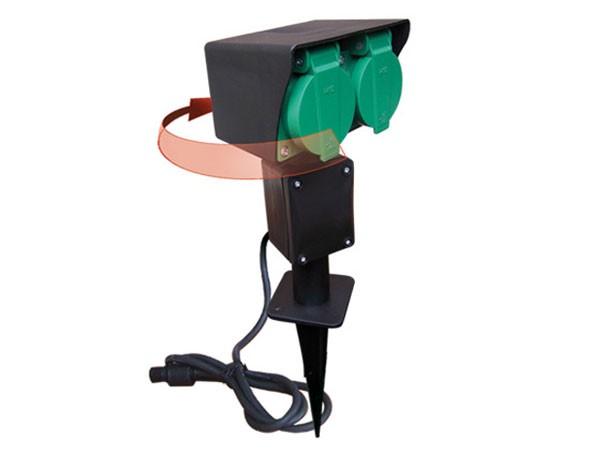 Easy Connect Steckturm-Modell mit zwei Steckern (66470)