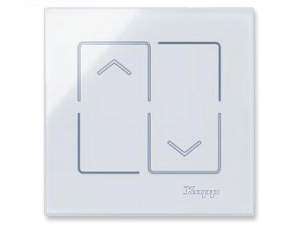 HK i8 Glas-Sensor-Jalousieschalter Kopp, eckig (853002010)