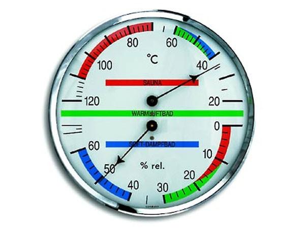 TFA 40.1013 Sauna-Thermo-Hygrometer rund