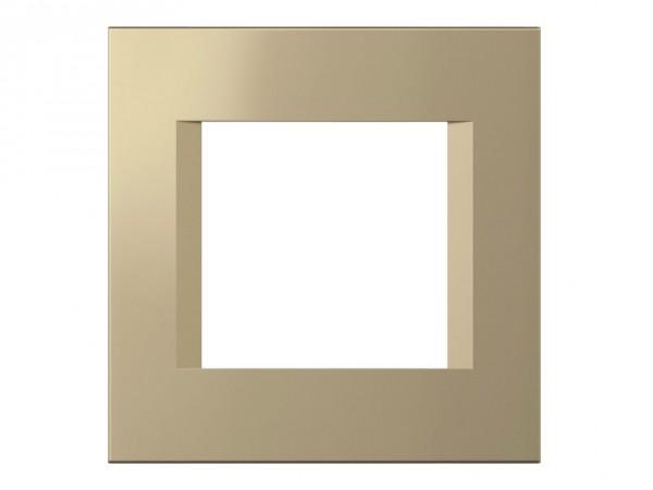 TEM Serie Modul Plus LINE Abdeckrahmen 2M sandgold (OL20SG-U)