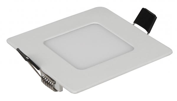 "LED-Panel McShine ""LP-385SW"", 3W, 85x85mm, 170 lm, 3000K, warmweiß"