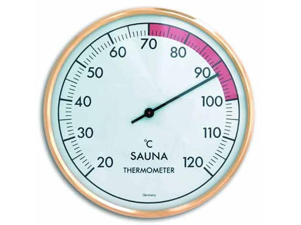 TFA 40.1011 Sauna-Thermometer rund