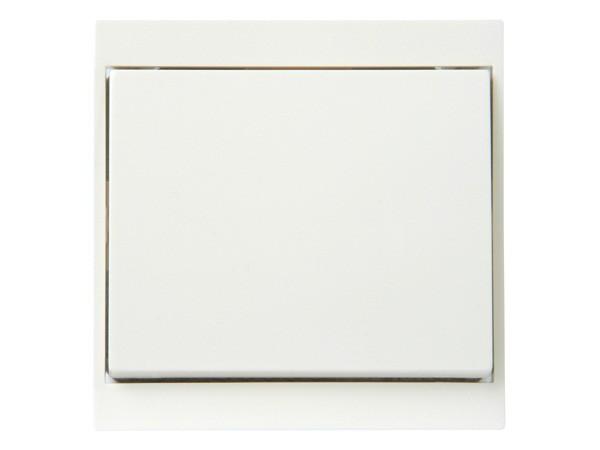 Kreuzschalter weiß Serie Malta - Kopp (620701080)