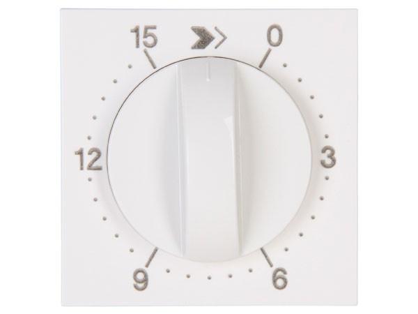 Abdeckung für mechanische Zeitschaltuhr 15min Objekt HK 07 rein-weiß Kopp (313429152)