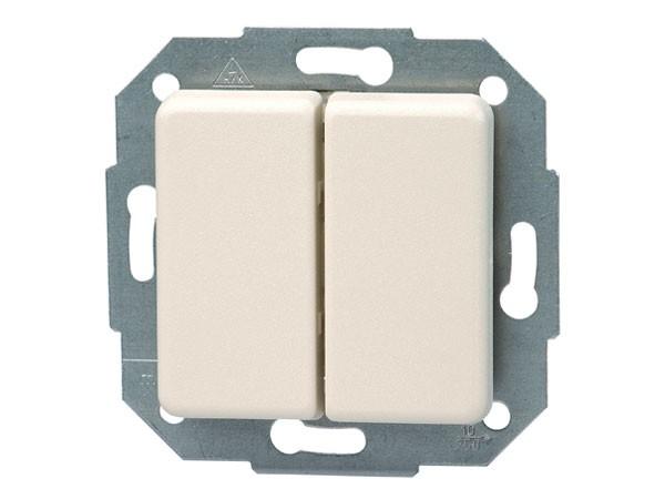 Wechsel- / Wechselschalter Serie Europa creme-weiß Kopp (613301077)
