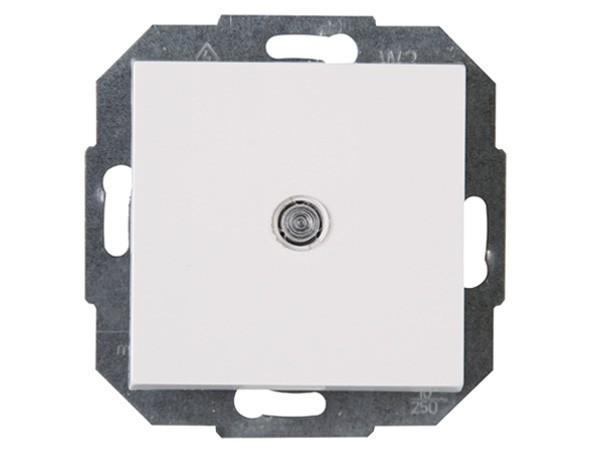 Taster beleuchtet rein-weiß Serie Athenis - Kopp (589392080)