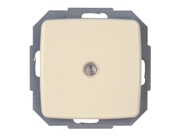 Universalschalter (Aus- und Wechselschalter) beleuchtet Serie Rivo creme-weiß Kopp (585667089)
