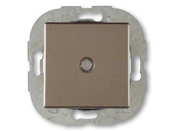 REV Ritter Düwi Trend Kontroll-Wechselschalter mit Glimmlampe, maron (41191)