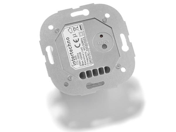 Intertechno ITL-500 Funkeinbauschalter für Jalousie-, Rollladen-, Markisen- und Torantriebe