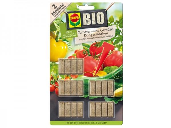 Compo Bio Tomaten-und Gemüse Düngestäbchen (10725)