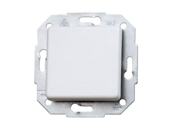 Universalschalter (Aus- und Wechselschalter) Serie Europa arktis-weiß Kopp (613613082)