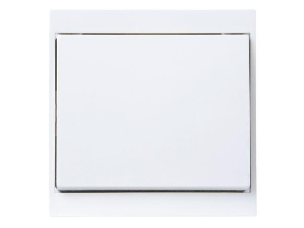 Universalschalter (Aus- und Wechselschalter) arktis-weiß Serie Malta - Kopp (620613086)