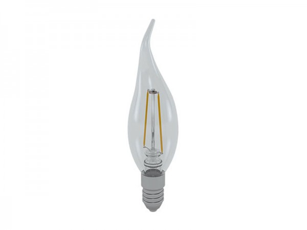 I-Light LED-Filament Kerze E14 2W 3000K warmweiß (LL-FCF1402C)