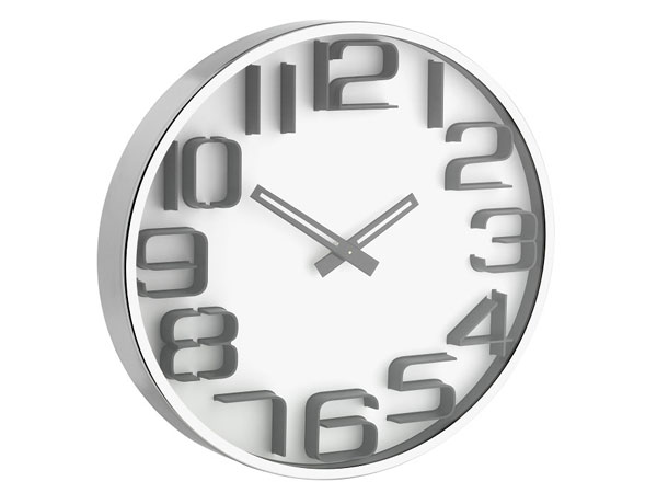 Tfa 60301602 Wanduhr Mit Ziffern In 3d Optik Home4u Shopde