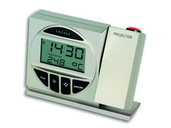 TFA 98.1009 Funk-Projektionsuhr mit Temperatur