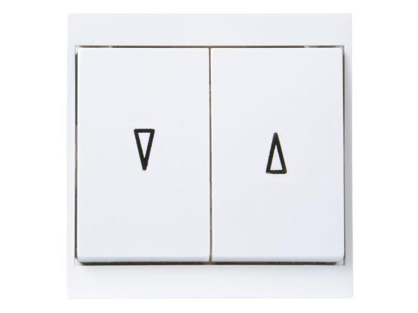 Jalousieschalter arktis-weiß Serie Malta - Kopp (621513084)