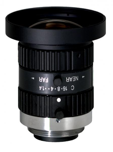 """Computar H0514-MP2 1/2"""" 5 mm F1.4 w / Verriegelungs Iris & Focus, Megapixel (C-Mount)"""