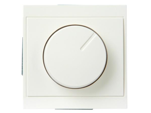 Druck-Wechsel-Dimmer (Phasenabschnitt) Serie Malta weiß - Kopp (800301080)