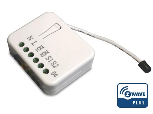 Philio Relais Unterputzeinsatz, 2 Schalter a 1.5kW mit Messfunktion (PHI_PAN04-1B)