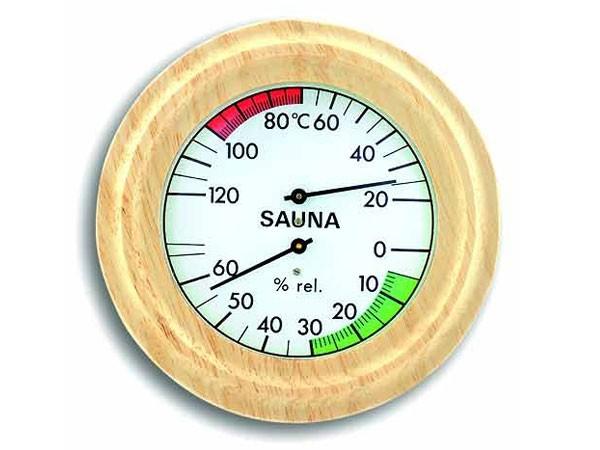 TFA 40.1005 Sauna-Thermo-Hygrometer rund