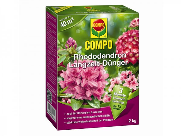Compo Rhododendron Langzeit-Dünger 2 kg (21577)