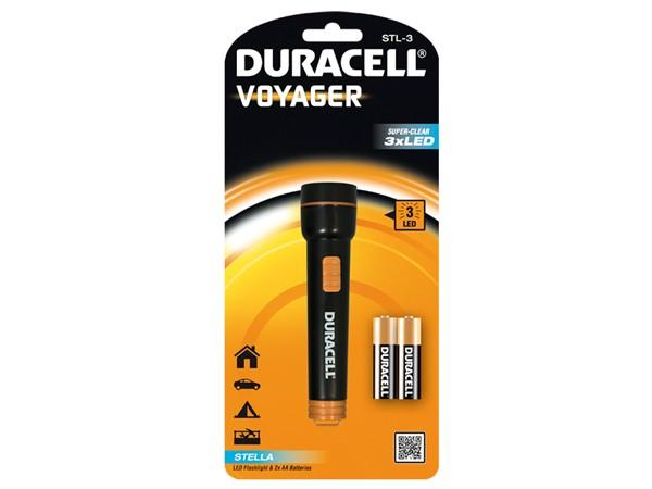 Duracell® Voyager STL-3 (2xAA, 20 Lumen, 25m Leuchtweite, 35g)