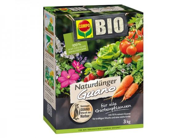 Compo Bio Natur Dünger Guano 3 kg (12451)