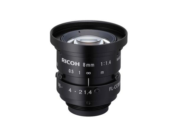 PENTAX CCTV Objektiv Festbrennweite FL-CC0814A-2M (1.4/8mm)