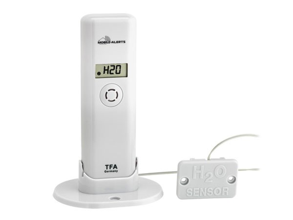 TFA 30.3305.02 WeatherHub Temperatur/Feuchte-Sender mit Wassermelder passend für WeatherHub-Gateway