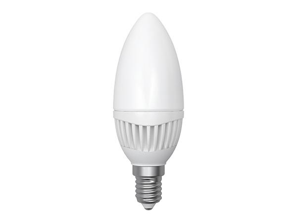LED-Lampe E14 Kerze 5W 3000K, warm weiß (LL-HC1405C)