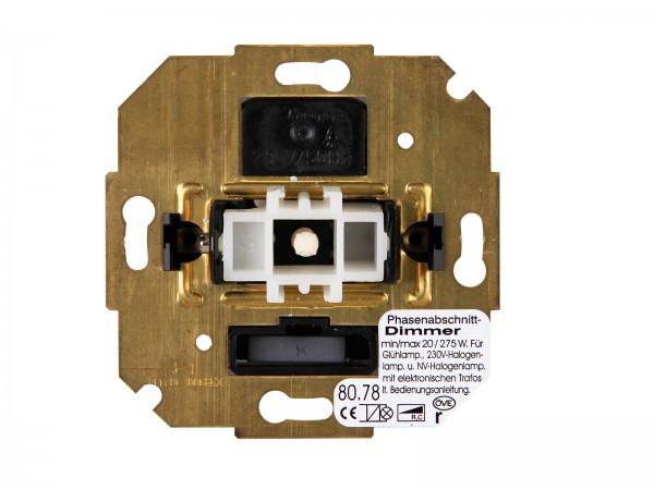 Sockel Wippen-Wechsel-Dimmer (Phasenabschnitt) Paris / HK05 / HK07