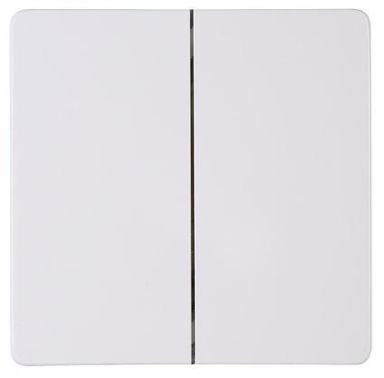 Flächendoppelwippe für Funk-Wandschalter (Free-Control) Objekt HK 05 / Paris rein-weiß Kopp (8264020