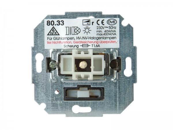 Sockel Wippen-Wechsel-Dimmer (Phasenanschnitt) Paris / HK05 / HK07