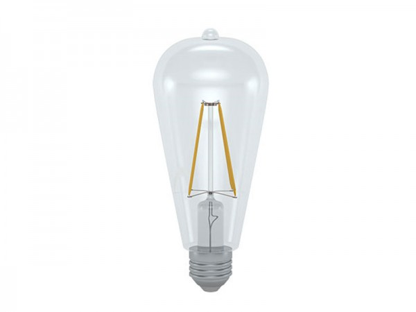 I-Light LED-Filament Kolben E27 6W 3000K warmweiß (LL-ST642706C)