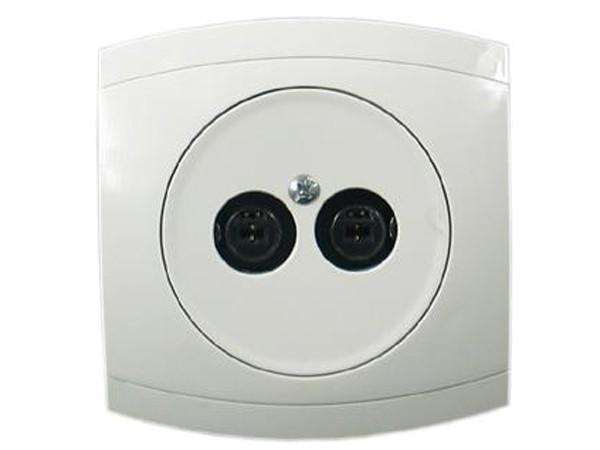 Stereo-Lautsprecher Serie Modena weiß - REV-Ritter (00851104)